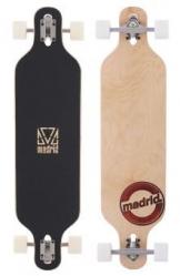 Madrid Longboard-Komplettset braun Einheitsgröße -