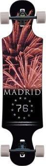 Madrid Longboard-Komplettset schwarz Einheitsgröße -