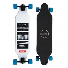 "Madrid Longboard Weezer Photo 36"" (91,4cm), Topmount Basic Board Komplettboard Freeride Cruiser -"