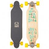 """Madrid Longboard Weezer Scramble 36"""" (91,4cm), Topmount Basic Board Komplettboard Freeride Cruiser -"""