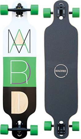 "Madrid Trance 39"" Drop-Thru 2 Longboard, Cutout 2, One size -"