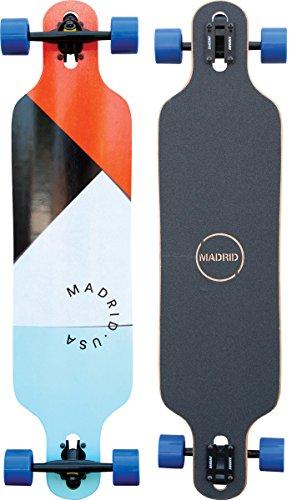 "Madrid Trance 39"" Drop-Thru Longboard, Paper Cuts, One size -"