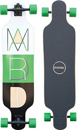 "Madrid Trance 39""Top-Mount 2 Longboard, Cutout 2, One size -"