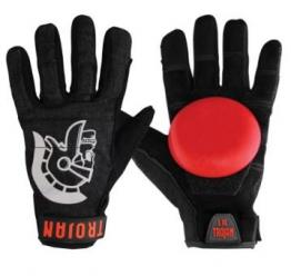 Madrid Trojan Denim Disaster Slide-Handschuhe - Black (Small/Medium) -