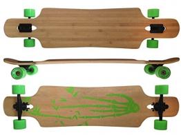 MAXOfit Deluxe Longboard Bamboo Race 9 Schichten Maple, 107 cm, or-19004 -