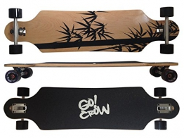MAXOfit Deluxe Longboard Crow 9 Schichten Maple, 104 cm, or-19012 -