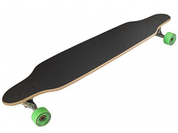 MAXOfit Deluxe Longboard Green Fire 9 Schichten Maple, 104 cm, or-19013 -