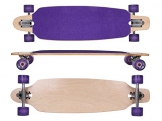 MAXOfit® Deluxe Longboard Roxy No.26, Drop Through, 91,5 cm, 9 Schichten, ABEC11 -