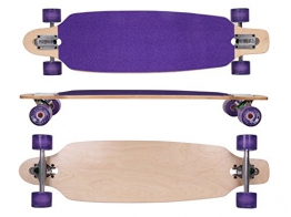 MAXOfit® Deluxe Longboard Roxy No.26, Drop Through, 91,5 cm, 9 Schichten, ABEC11 -