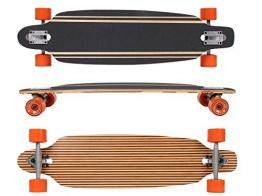 MAXOfit® Deluxe Longboard Safari No.57, Drop Through, 91,5 cm, 9 Schichten, ABEC11 -