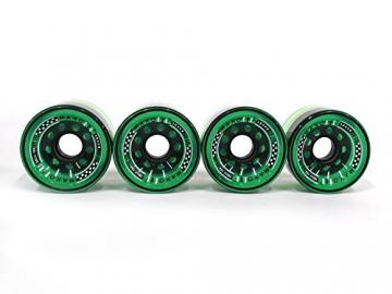 MAXOfit® Longboard Rollen All Day Grün 70mm Durchmesser -