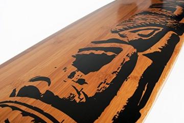 Muster in schwarz von Jucker Hawaii - Mike