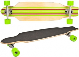 Nick and Ben Longboard Cruiser Skateboard Deluxe -