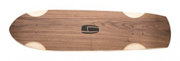 Olson&Hekmati Longboard Deck Freeride Cruiser Fc 90 Basic Inklusive Logogrip, fc90b -