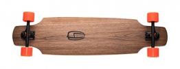 Olson&Hekmati Longboard Komplett Fd100 Composite 180 mm Rkp Rollen 70 mm Kugellager, fd100comcpl -