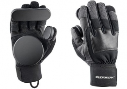"Osprey Kinder Skateboard ""Slide Handschuhe mit abnehmbarem Pucks, schwarz, Small -"