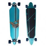 Osprey Longboards Pegasus, Limited Edition Komplettboard, Twin-Tip Drop-Through Freeride Skaten Cruiser Board -