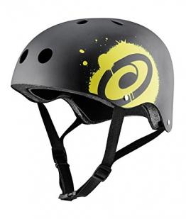 Osprey Skateboard BMX Fahrrad Sport-Helm schwarz schwarz xs -