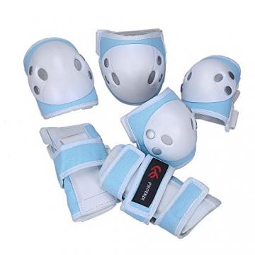PHOENIX Schutzausrüstung für Kinder Sport Handgelenkschützer Ellbogenschützer KnieschützerProtektoren -