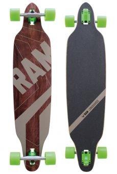 RAM FR2.0 Longboard schwarz/braun 2015 -