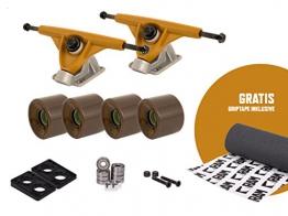 "RAM UB-Truck 6"" | 150 mm Longboard Achsen Set Setup inkl. Griptape -"