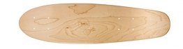 Ridge Premium Mini Cruiser Skate Deck / Twin Tip Deck / Pintail Longboard Deck in Ahorn: Natural -