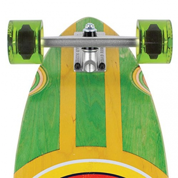 Santa Cruz Longboard Classic Dot Pintail, green, 9.6 x 39.0 Zoll, SANLOBCLDOPI -