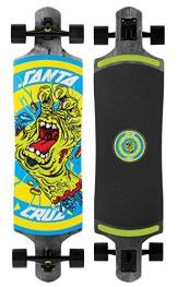 Santa Cruz Longboard Rob Hand Black Drop Thru, 10.0 x 40.0 Zoll, SANLOBROHADTBL -