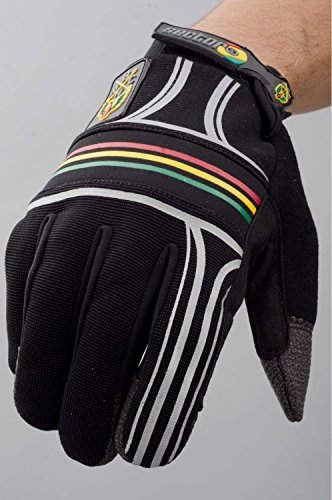 Sector 9BHNC Slide Handschuhe Rasta Longboard sgs134klein medium -