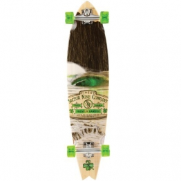 Sector 9 Ireland Bamboo 38 Complete Longboard - 5 Ply Bamboo construction - All Original Sector 9 Components by Sector 9 -