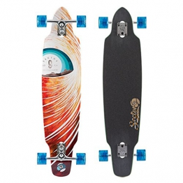Sector 9 Longboard Horizon Complete, Red, One size, SS156 -