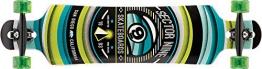 Sector 9 Longboard Meridian Complete, Green, 9.75 x 40.0 Zoll, CS153Cgreen -