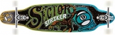 Sector 9 Longboard Striker 15 Complete, Blue, One size, SS155C -