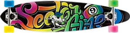 Sector 9 Longboard The Swift 15 Complete, Black, 8.5 x 34.5 Zoll, FS153Cblack -