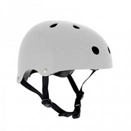 SFR Skateboard / Scooter / Inliner / Rollschuh Schutz Helm - Weiß - Bmx, Inliner, Longboard Helm - Schutzausrüstung Skateboard Helm, Grösse:XXS/XS 49-52cm -