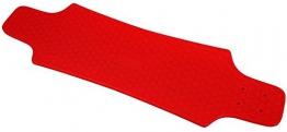Skateboard Longboard Deck Brett 30 Inch Zoll Auswahl: grün rot blau (rot ) -
