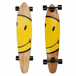 Komplett Longboard von Area - Smiley