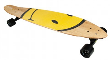 Komplett Longboard von Area - Smiley Board