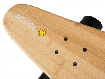 Komplett Longboard von Area - Smiley top mount
