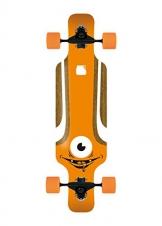 Solid Kid Eye Longboard, Orange, 1201000091 -
