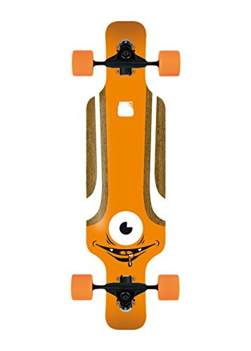 Solid Kid Eye Longboard, Orange, 1201000091 -