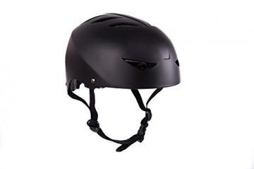 Streetdevil Helm Brainprotector - Longboard Skateboard BMX M-XL einstellbar 52-58cm -