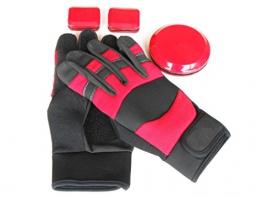 Top Qualität Slide Handschuhe/Longboard Handschuhe/Freeride Handschuhe. L -