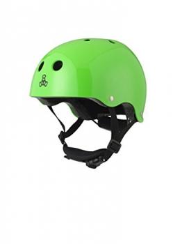 Triple 8 Kinder Kopfschutz LIL Helmet, Grün, XS, 1351000036 -