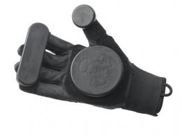 Triple 8 Schutzausrüstung Handschuhe Sliders, Schwarz, S/M, 1271000007 -