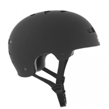 TSG Helm Evolution Solid Color, Flat-Black, S/M, 75046 -
