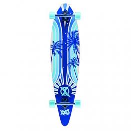 xootz Kid 's Island komplett Longboard Skateboard-Blau, 40 -