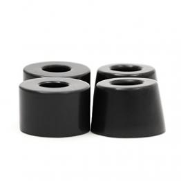 Apollo Longboard Bushings Cushions im Set | Härtegrad: 85A | Farbe: Schwarz | exklusiv bei uns in drei Härtegraden erhältlich -
