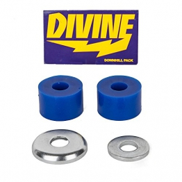 Divine Downhill Pack 82A Blue Longboard Lenkgummis für Paris Achsen - Barrel Bushings -
