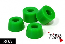 JUCKER HAWAII Longboard Bushings / Lenkgummis 80A grün -